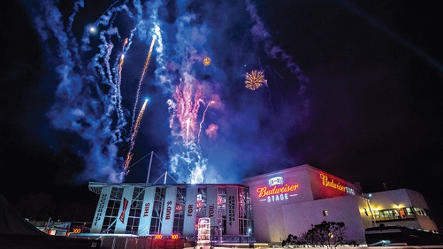 Bud Stage - Fireworks