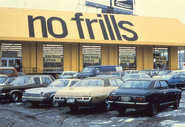 No Frills storefront late 1978
