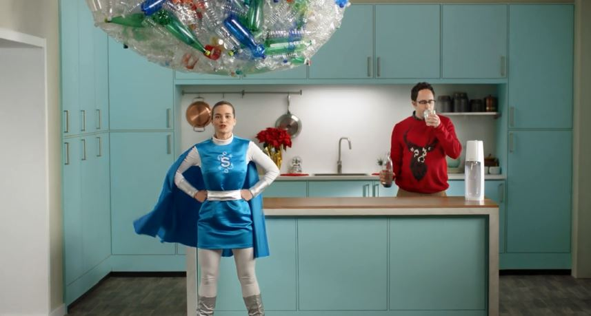 bd11776f63f0 SodaStream s holiday spot backs sustainable message » strategy