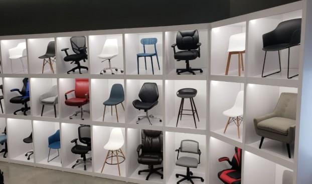 Staples_Chair Display