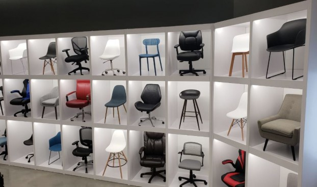 Staples_Chair Display