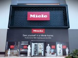 doug&partners helped Miele launch the first experiential retail store in the world using mirrored cutouts to help people envision themselves in a Miele kitchen.