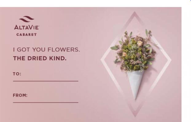 AltaVie Valentine's Card