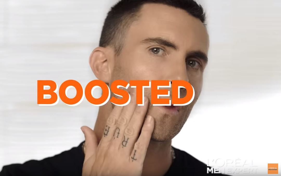 boosted adam levine