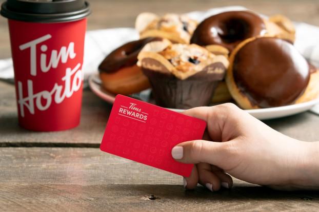 Tim Hortons-Introducing Tims Rewards-- a brand new loyalty progr