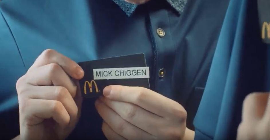 McDonald/'s Employee Name Badge