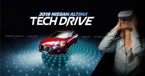 Nissan VR Tech Drive