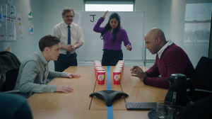 """In the """"Roll Up Legends"""" series which spoofs Canadian's obsession with the contest, """"The Rivals"""" portrays two office workers in a head-to-head prize battle."""