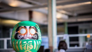 The Daruma is a Japanese tradition symbolizing perseverance and good luck for the mission ahead. This artifact, first introduced to BBR by its Toyota client, has come to represent the agency's mission-driven mentality. BBR believes that to create work that truly changes the course of things for its clients, they must approach their mandates as missions. Because missions have a beginning and an end, they are solution-oriented and their success can be measured.