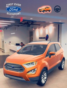 Through Snapchat AR, users could drop a digital model of a Ford EcoSport in their environments and take virtual interior/exterior tour.