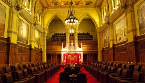 Senate Chamber - Canada