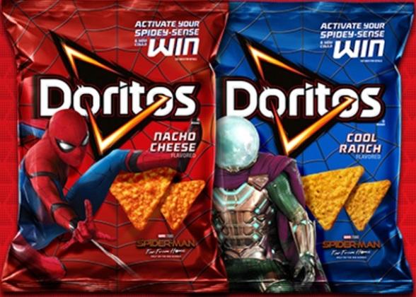 spiderman-doritos-packages