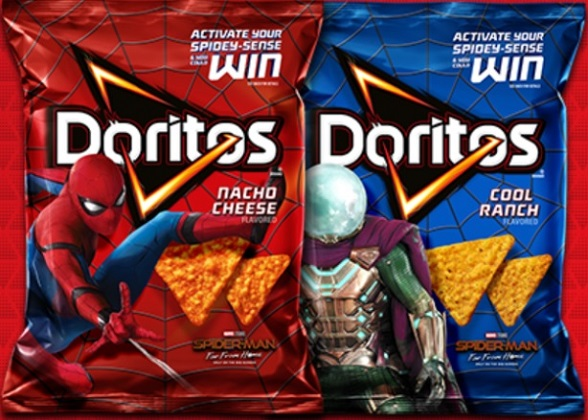spiderman-doritos-packages