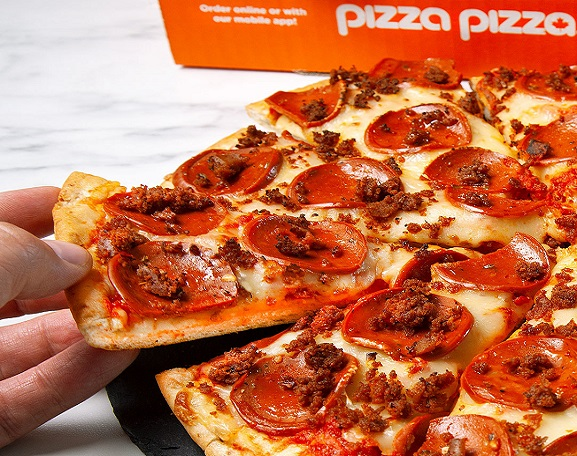 Pizza Pizza Limited-Pizza Pizza Adds Plant-Based Protein Options