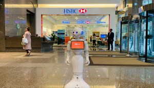 HSBC Bank Canada-HSBC Bank Canada welcomes Pepper to the team