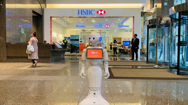 HSBC brings a robot to a Toronto branch » strategy