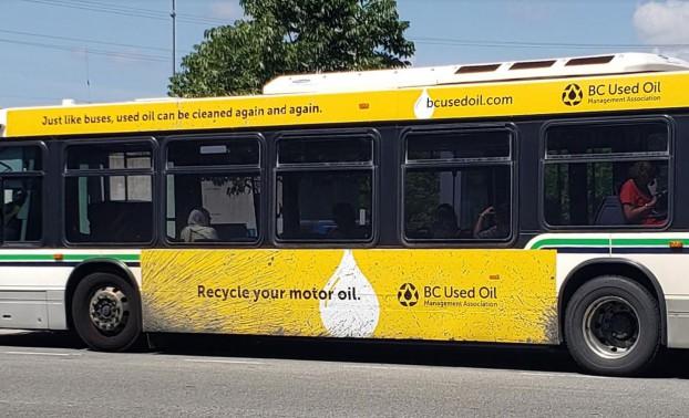 BC Used Oil Bus