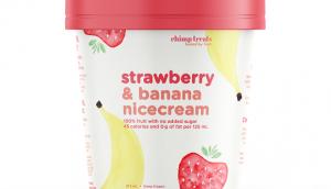 Strawberry Banana Nicecream