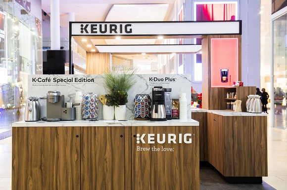 Keurig Canada-This holiday season-the Keurig- Boutique at Yorkda