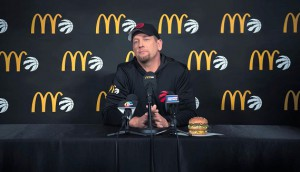 McDonal'ds & Nick Nurse