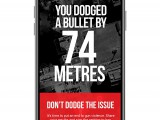 Zulu created a location-based app for the Coalition For Gun Control that let you know how close you were from a shooting in Toronto.