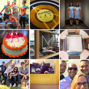 As this collage of images from the agency's Instagram feed shows culture and creativity truly combine at The Mark.