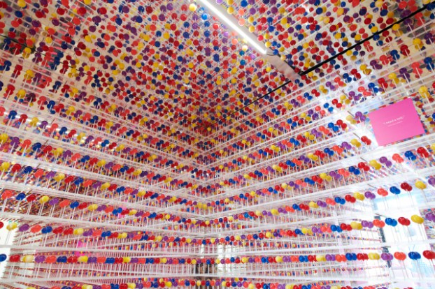 """""""Lolli: The Exhibit Nobody Wants to Talk About,"""" featured 10,824 lollipops to drive awareness of the prevalence of child pornography on behalf of the Canadian Centre for Child Protection."""