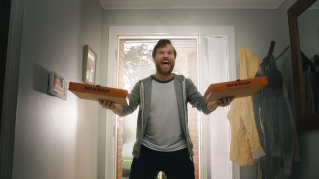 A new campaign for Little Caesars promoted the Canadian launch of Pizza Portal, a service that allows customers to custom order their pizza, select a pick-up time, and be notified when the order is ready.