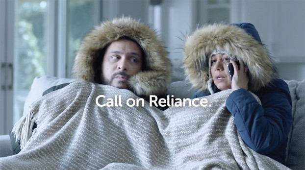 Broken furnace? Air conditioning not working? Call on Reliance (It's OK if you just sang that to yourself). d&p's recent campaign for Reliance Home Comfort included multiple 30- and 15-second national TV spots as well as a high volume of radio ads.