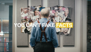 "Canadians For Clean Prosperity's satirical take on ""fake news"" showed unscrupulous media moguls using underhanded means to hide facts about carbon taxes."