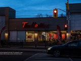 To celebrate the Raptors' historic playoff run, Tim Hortons locations showed support by only lighting up two key letters in their signage – T.O.