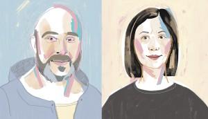 Debbie and David portrait