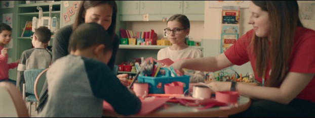 For SickKids, Paul Constantakis directed a spot that tells the touching story of a SickKids patient who shares some Valentine's Day love with a patient at Mount Sinai Hospital, located directly across the street.