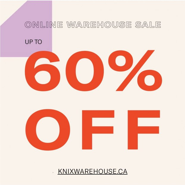 Knix Warehouse Sale