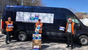 Kruger Products L-P--Kruger Products Rolls Out National Give-Bac