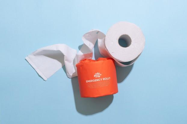 Emergency Toilet Paper - Caire Mueller, Unsplash