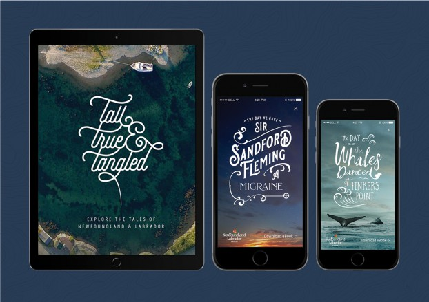 Created for Newfoundland and Labrador Tourism, Target developed this stunning digital storytelling hub and immersive website, wrote over 60 original stories in video, long-form narrative and audio, and published a collection of 'Tangled Tales' eBooks. The result? Over 300,000 online reading sessions, and over 27,000 eBook downloads.