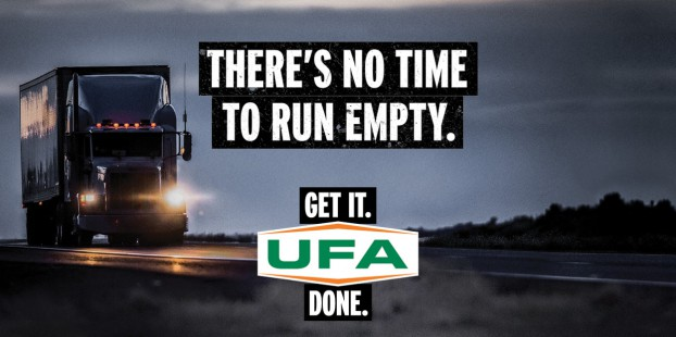 """""""Get it. Done."""" for United Farmers of Alberta (UFA) celebrates the organization's hard-working customers – farmers, truckers, and construction and industrial workers – whose jobs don't follow regular office hours and whose work never truly ends."""