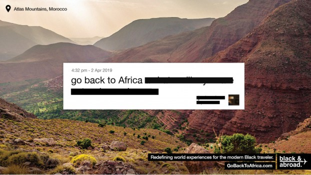 This Cannes Grand Prix-winning campaign, done in partnership with FCB/six, turned a racial slur into a call to action for Black & Abroad, which is focused on curating travel experiences for Black tourists.