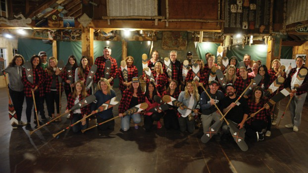 Media Experts has one of the highest employee tenure rates of any Canadian agency. 40% of employees have been there for five years or more, which spurred the creation of their anniversary program that commemorates each 5-year milestone with a custom-designed canoe paddle.