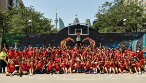 UM believes that better science and better art drives better outcomes, but equally importantly that engaged teams outperform. To inspire teamwork and also give back, UMers take part in Impact Day, an annual global initiative where the agency closes shop for a day in July to help out in the community (team pictured above in Toronto's Esplanade neighbourhood).
