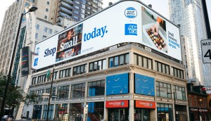 Amex Shop Small - Yonge Dundas Billboard