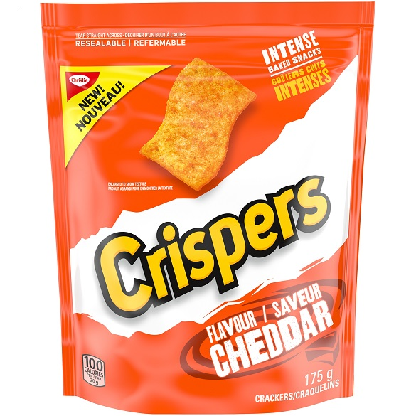Crispers Cheddar 3D Pack