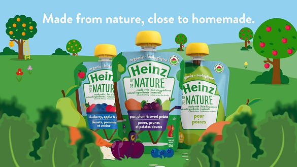 Kraft Heinz Canada-Heinz Reinvents its Baby Food Line With Launc