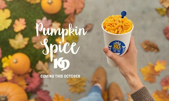 Pumpkin spice KD