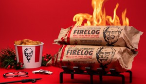 KFC Canada-KFC-s 11 Herbs And Spices Firelog is Coming to Canada
