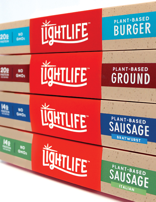 Lightlife Foods Product Boxes