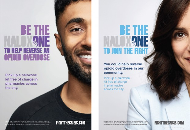 McCann Health created an integrated campaign to inspire regular people to be prepared to save a life from accidental opioid overdose.