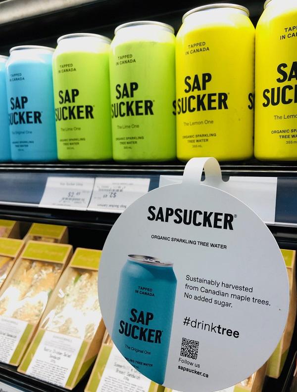 Sapsucker shelf wobbler