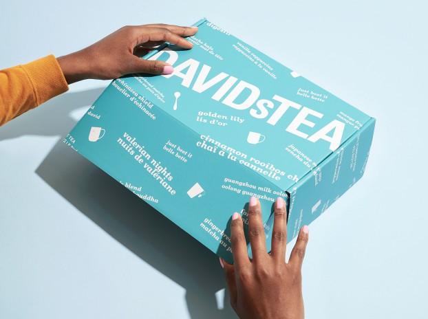 DavidsTea box